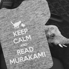 keep calm and read murakami